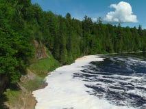Rivière de Tahquamenon - Michigan photographie stock libre de droits