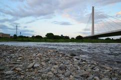 Rivière de Tama Image libre de droits