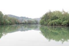 Rivière de Tevere Photos stock