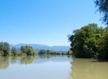 Rivière de Tevere Image stock