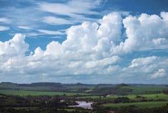 Rivière de Tibagi Photo libre de droits