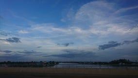Rivière de Tulesab au parasol Image libre de droits