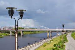 Rivière de Tura Photo libre de droits