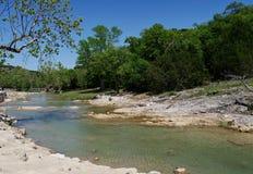 Rivière de Turner Falls, l'Oklahoma photo libre de droits