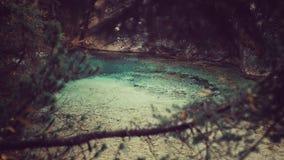 Rivière de turquoise Image libre de droits