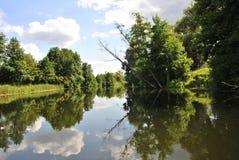 Rivière de Voronezh, Russie Photo libre de droits