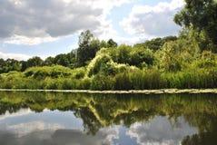 Rivière de Voronezh, Russie Photo stock