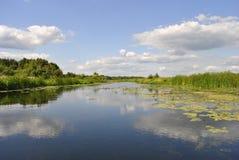 Rivière de Voronezh, Russie photos stock