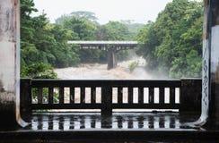 Rivière de Wailuku dans Hilo Images libres de droits
