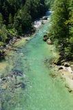 Rivière de Whitewater Salza - Autriche Photographie stock libre de droits
