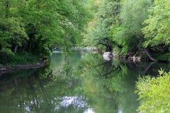 Rivière de Yantra au printemps Image libre de droits
