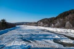 Rivière de Yuryuzan Photo libre de droits