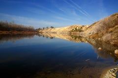 Rivière Don en Russie Photographie stock