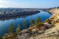 Rivière Don en Russie Images libres de droits