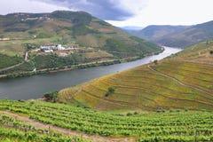 Rivière Douro, Portugal photos libres de droits