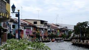 Rivière du Malacca Photos stock