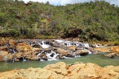 Rivière du ` s de la Nouvelle-Calédonie image stock