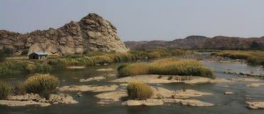 Rivière en Afrique Photographie stock