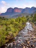 Rivière en Afrique du Sud La rivière de Blyde photo stock