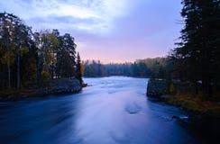 Rivière en automne Photographie stock libre de droits