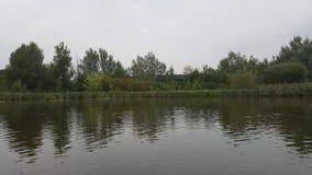 Rivière en ma ville natale images libres de droits