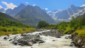 Rivière en montagnes Images stock