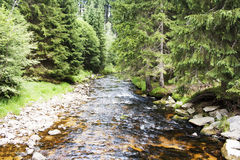 Rivière en pierre Photos libres de droits