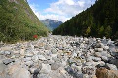 Rivière en pierre Images stock
