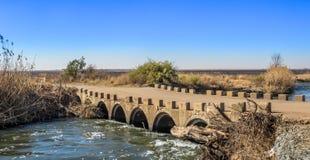 Rivière Gauteng South Africa de Klip de paysage Images libres de droits