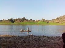 Rivière Inde de Narmada photo stock