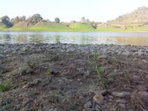 Rivière Inde de Narmada image stock
