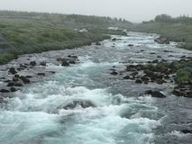 Rivière islandaise Image libre de droits