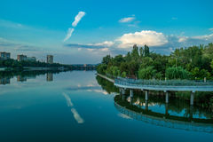 Rivière Kalmius Photos libres de droits