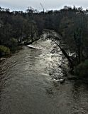 Rivière Kelvin Photo libre de droits