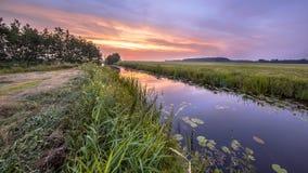 Rivière Koningsdiep Image libre de droits