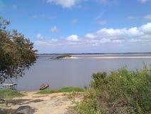 Rivière l'Orénoque image libre de droits