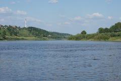 Rivière large Image libre de droits
