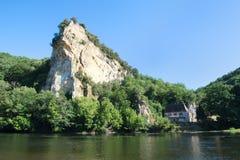 Rivière le Dordogne image stock