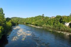 Rivière le Dordogne photos libres de droits