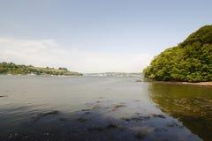 Rivière Lynher les Cornouailles de point de Jupiter Images stock