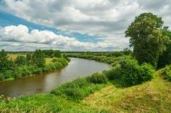 Rivière Neman, Belarus images libres de droits