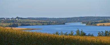 Rivière occidentale, prince Edward Island image libre de droits