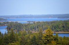 Rivière occidentale, prince Edward Island photos libres de droits