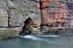 Rivière Ploucnice de Gap image stock