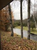 Rivière pluvieuse 1 Photos libres de droits