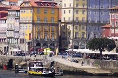 Rivière Porto Portugal de Douro Photos stock