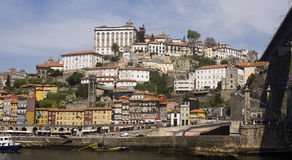 Rivière Porto Portugal de Douro Images libres de droits