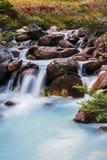 Rivière près de Laguna Esmeralda en Tierra del Fuego Images stock