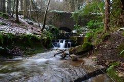 Rivière près des Malouines Image stock