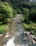 Rivière Prahova Photos libres de droits